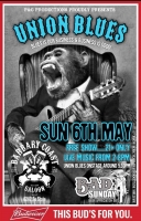 FREE! Union Blues at Barbary Coast - Biker Appreciation Day! NO COVER!